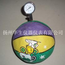 球类气压表,压力器,测压器,专业球压计不锈钢款